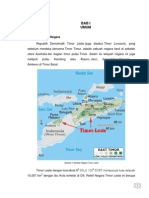 Analisis Sistem Pertahanan Negara Timor Leste