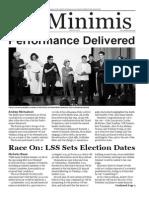 MLS De Minimis Vol. 4 Issue 5