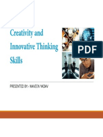 Innovation and Creativity [Compatibility Mode]