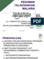 97294641 Pedoman Penatalaksanaan Malaria 1