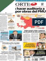 Periódico Norte de Ciudad Juárez edición impresa del 27 marzo del 2014