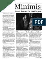 MLS De Minimis Vol. 4 Issue 12