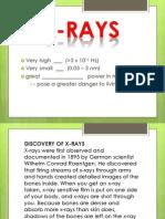 Handout Xray and Gamma Ray