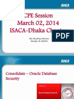 Oracle Secuirty Configuration