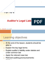 Week2 Auditor's Liability
