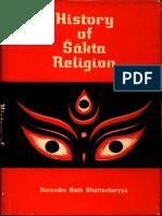 History of Sakta Religion - Narendra Nath Bhattacharya