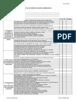 Lista de verificación ambiental