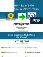 Come Migrare Da MediaWiki a WordPress
