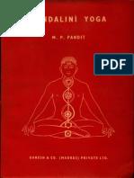 Kundalini Yoga - M.P. Pandit.pdf