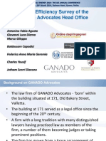 Energy Efficiency Survey of theGanado Advocates Head Office