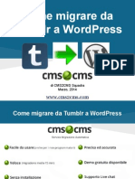 Come Migrare Da Tumblr a WordPress