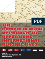 Comprehensive Approach to Operations