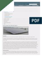 City of Vernon Solar Rebate
