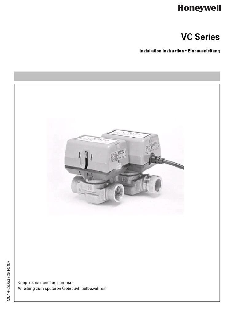 Schön Honeywell Zonenventile Schaltplan Galerie - Der Schaltplan ...