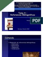 Referencias Bibliográficas (Clase 9 tema 4 2009)