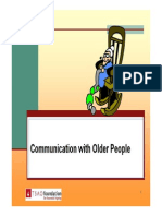 FEG PPCommunication With Older People