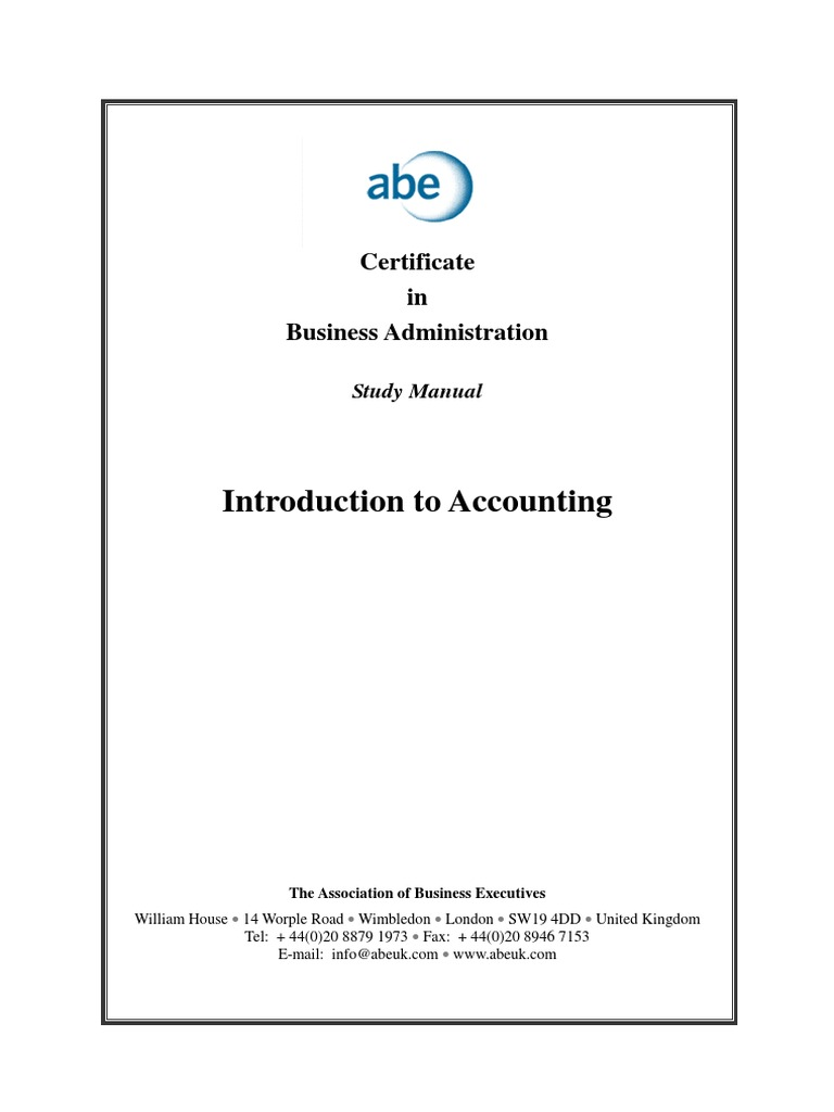 abe level 4 introduction to accounting debits and credits rh scribd com