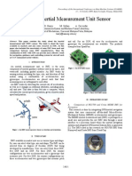 Study of Inertial Measurement Unit Sensor