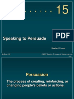 Chapter 15 -- Speaking to Peersuade