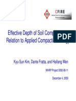 Effective Depth for Compaction