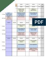 home school calendar 2014-2015
