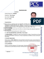 Irfan Appointment and Agreement Letter1