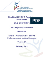 EHSMS Performance and Incident Reporting