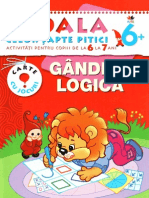 205096587 Litera Mica Gandire Logica 6an