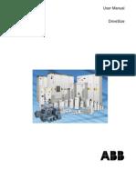 UserManual ABB Drive Size