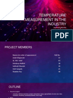 Temperature Monitoring in the Industry