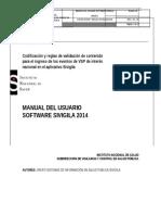 Siviliga - Codificacion Eventos 2014