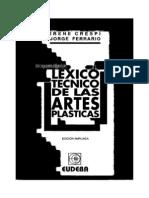 Lexico Tecnico Artes Plasticas