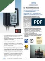 Ex ResistTel Telephone Complete