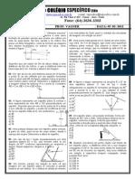 Lista espelhos  planos princípios óptica