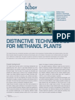 Distinctive Technology for Methanol Plants