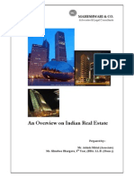An Overview on Indian Real Estat