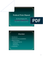 Produced Water Handouts
