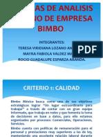 Unidad 3 Tecnicas de Analisis Interno de Empresa Bimbo Gestion Estrategica