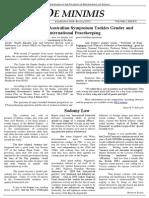 MLS De Minimis Vol 1. Issue 8