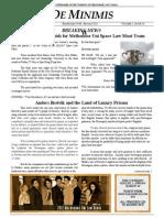 MLS De Minimis Vol 2. Issue 2