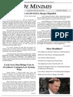 MLS De Minimis Vol 2. Issue 8