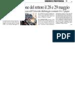 Ateneo, elezione del rettore il 28 e 29 maggio - Il Resto del Carlino del 26 marzo 2014