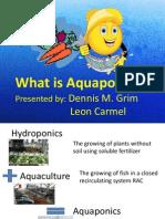 aquaponics presentation