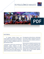 Presentación Conjunto Folclórico Maucó