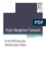 PMP Project Management Framework Fifth Edition
