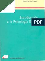 Crespo 1995 Introduccion Psi Social