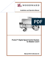 Proact I+II Actuator Tech Manual 04121 Rev K