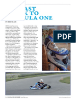 "Jakeson Caouette ""THE FAST TRACK TO FORMULA ONE"" April/May edition 
