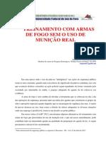 TREINAMENTO COM ARMAS DE FOGO SEM USO DE MUNIÇÃO REAL