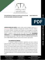 Josivani Oliveira dos Santos x Amazonian Health Industria e Comércio